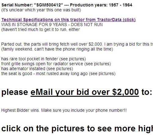 Craigslist Ad Sample - Part 2