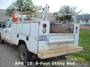 APR '10: 8-Foot Utility Bed