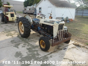 1963 Ford 4000 Industrial