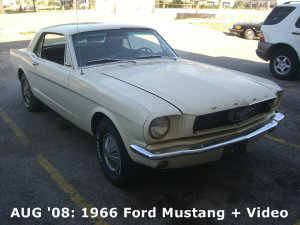 Aug '08: 1966 Ford Mustang
