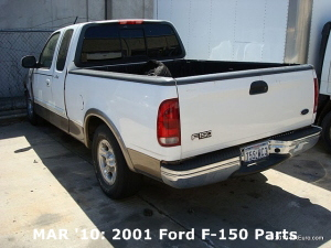 MAR '10: 2001 Ford F-150 Parts