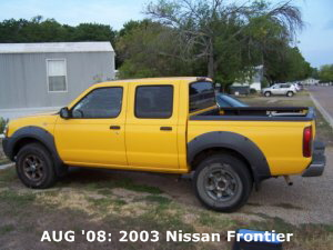 AUG '08: 2003 Nissan Frontier