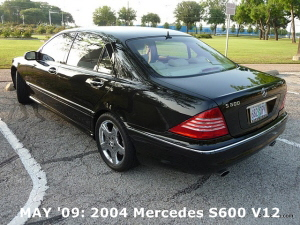MAY '09: 2004 Mercedes S600