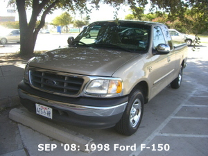 SEP '08: 1998 Ford F-150