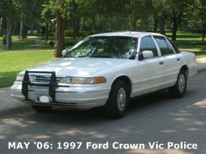 MAY '06: 1997 Ford Crown Vic Police