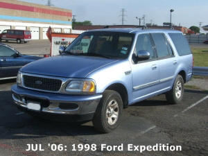 JUL '06: 1998 Ford Expedition