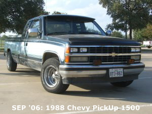 SEP '06: 1988 Chevy PickUp 1500