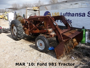 MAR '10: Ford 981 Tractor