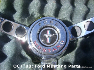 OCT '08: Ford Mustang Parts