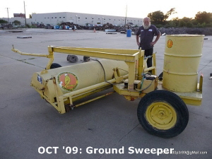OCT '09: Ground Sweeper