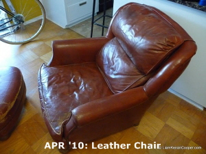 APR '10: Leather Chair