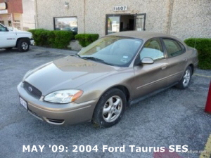 MAY '09: 2004 Ford Taurus SES