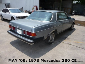 MAY '09: 1978 Mercedes 280 CE