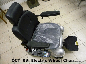 OCT '09: Electric Wheel Chair