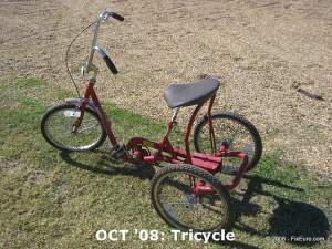 OCT '08: Tricycle